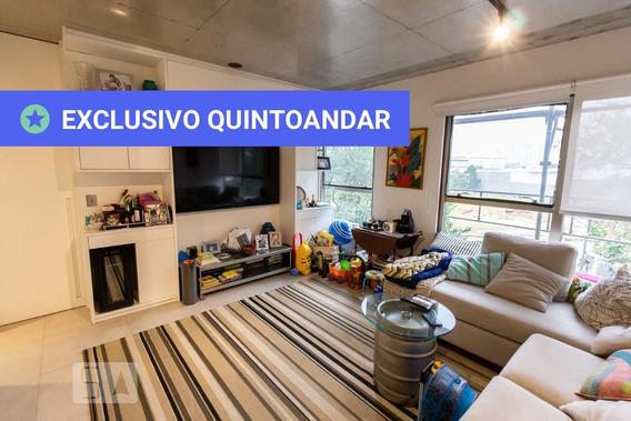 Apartamento No 2º Andar Com 2 Dormitórios E 1 Garagem - Id: 892955285 - 255285