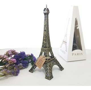 Torre Eiffel Ifel Metal Chica 18cm Alto Paris Francia Adorno