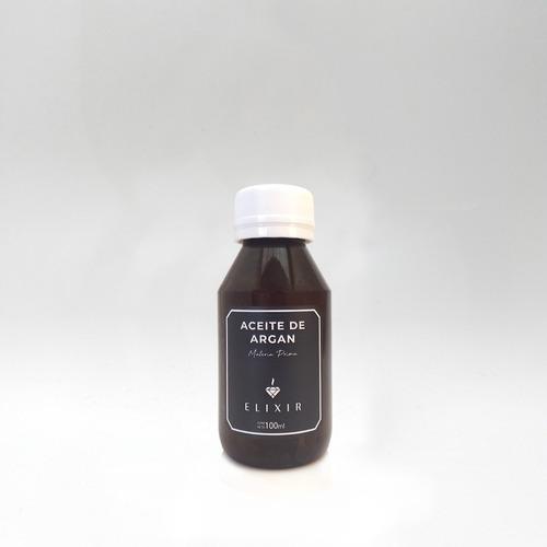 Aceite De Argan 100ml Elixir Materia Prima Caba