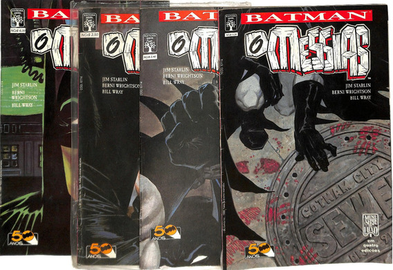 Batman: O Messias Abril - 1989 - Completo - 4 Volumes - Hq