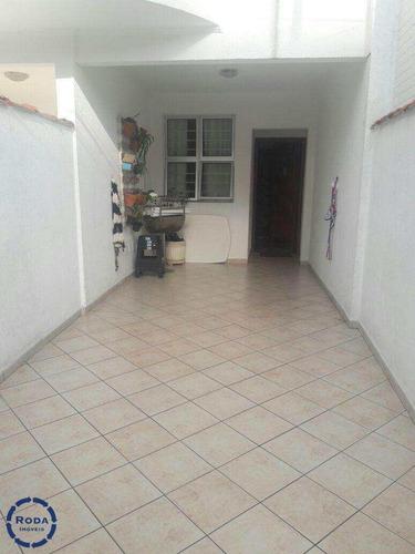 Casa Com 3 Dormitórios Para Venda, Ponta Da Praia, Santos - V12951