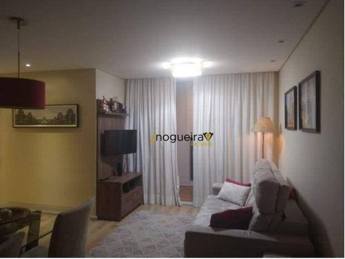 Apartamento Com 3 Dormitórios À Venda, 69 M² Por R$ 468.000,00 - Jardim Prudência - São Paulo/sp - Ap15405