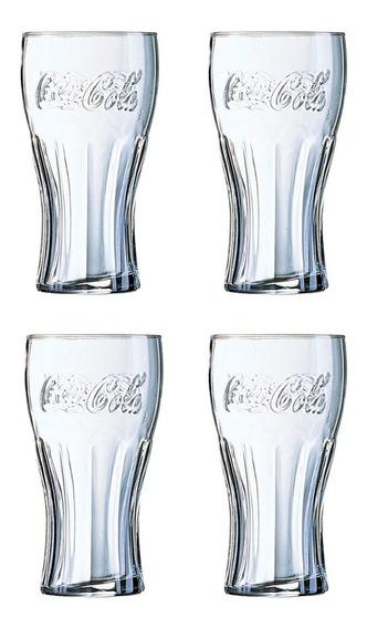 Set Vaso Coca Cola X4