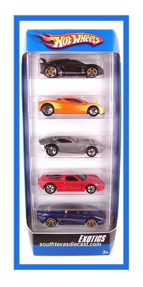 Hot Wheels- 5 Gift Pack- 2007 - Exotics - ¡ Único En M. L. !