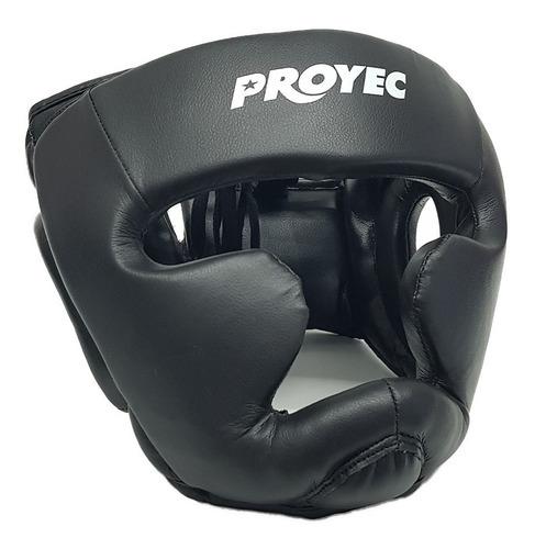 Cabezal Boxeo Protector Pomulo Menton Nuca Proyec Importado