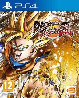 Dragon Ball Fighter Z Ps4 - Juego Fisico - Cjgg