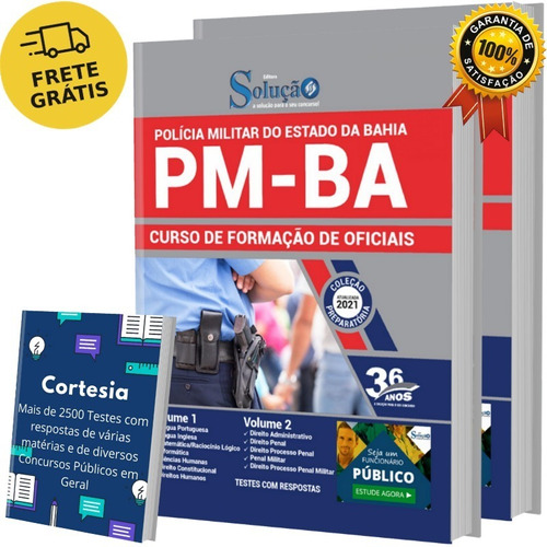 Apostila Cfo Ba - Oficial Polícia Militar Bahia - Pm Ba