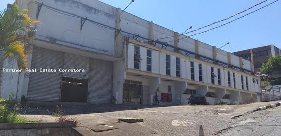 Galpão Para Locação Em Jandira, Jardim Alvorada, 6 Banheiros, 10 Vagas - 2572