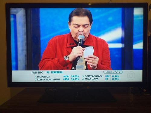 Tv Samsung 40  Smartv - Mod. Un40d5500rg (leia A Descrição)
