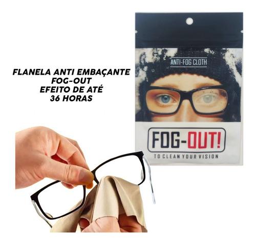 Imagem 1 de 6 de Flanelas Efeito Antiembaçante P/ Óculos Viseira Fog-out