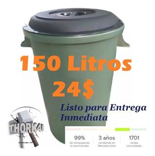 Pipote 150 Litros Para Almacenar Agua O Basura - 840001