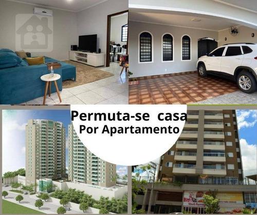 Casa À Venda, 212 M² Por R$ 450.000,00 - Planalto - Araçatuba/sp - Ca1008