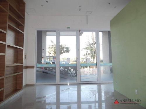 Imagem 1 de 10 de Salão Para Alugar, 45 M² Por R$ 2.800,00/mês - Rudge Ramos - São Bernardo Do Campo/sp - Sl0458