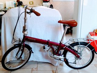 Bicicleta Plegable Bickerton Junction 1307 + Luces Raypal