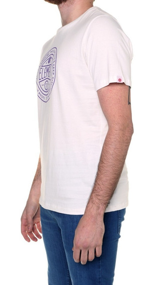Remera M/c Element Token Tee Crudo Hombre