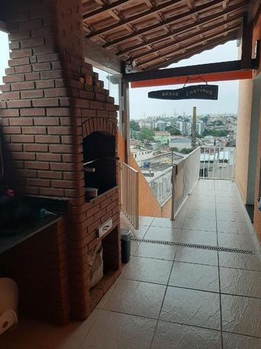 Sobrado À Venda, 156 M² Por R$ 700.000,00 - Jardim Monjolo - São Paulo/sp - So2117