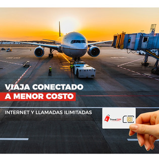 Chip Para Viajeros Internet Usa Estados Unidos Mexico Europa