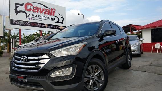Hyundai Santa Fe Sport Awd Negra 2013