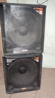 Sonido Profesional Completo. Bafles Zkx+sub Jbl+potencia Lps