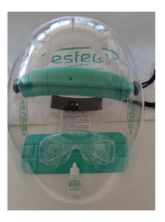 Mascara Protector Facial Burbuja Seguridad Coiro
