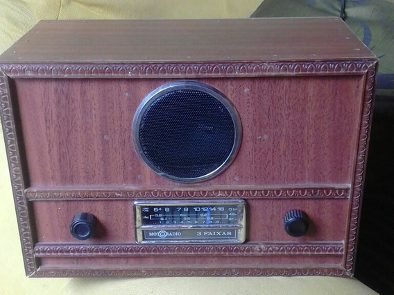 Radio. . Motorradio Am /fm Fucionando, Cx Reformada