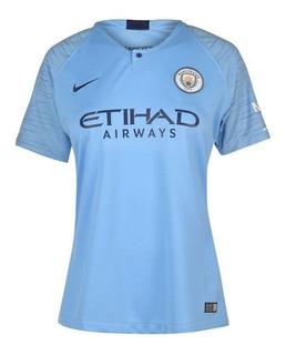 Camisa Manchester City Feminina 18/19 - Pronta Entrega
