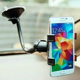 Suporte Celular Gps Smartphone Com Ventosa Fixa No Painel