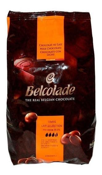 Chocolate Belcolade Con Leche 1 Kg