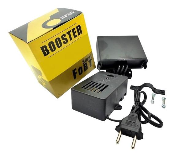 Booster Full Hd Sinalfort Amplificador Conjugado Vhf Uhf