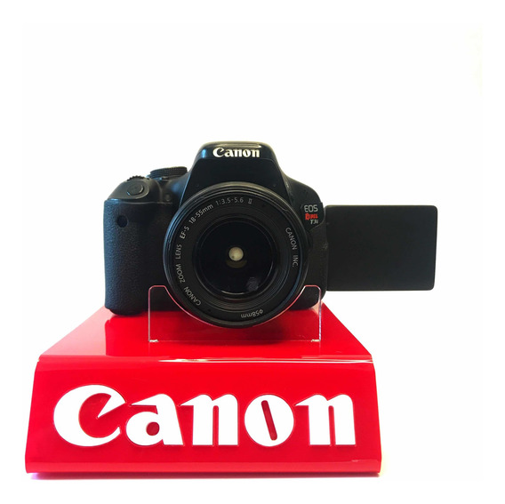 Câmera Profissional Eos Rebel Canon T3i Fotografia Vídeo