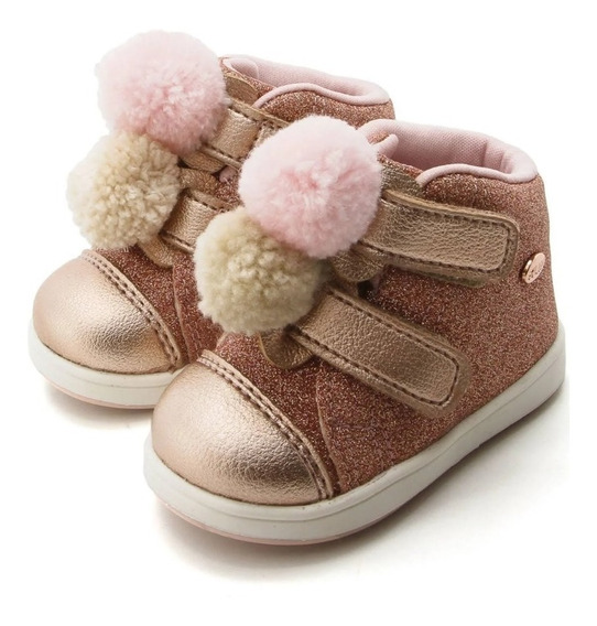 Tênis Sneaker Bebê Infantil Mini Gloss Klin 20873 / 21218