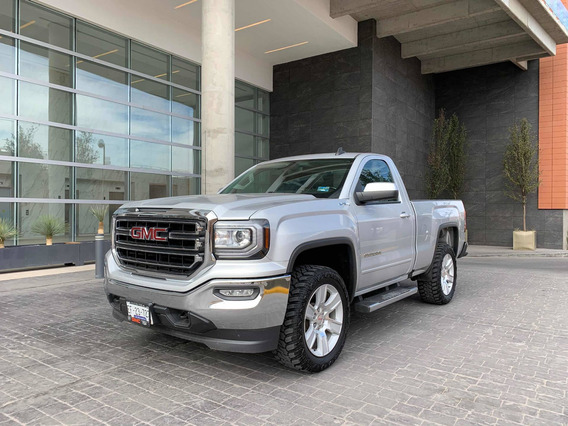 Gmc Sierra 5.4 Cabina Regular Sle 4x4 At 2018