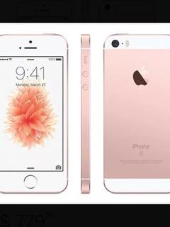 iPhone Se Ouro Rosé Com Capinhas De Brinde