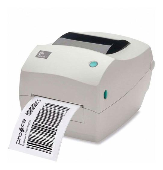 Impressora Zebra De Código De Barras Gc420 Etiquetas