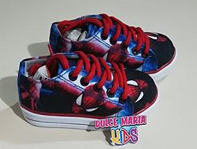 Tennis Zapatos Converse Niños Spiderman Hombre Araña