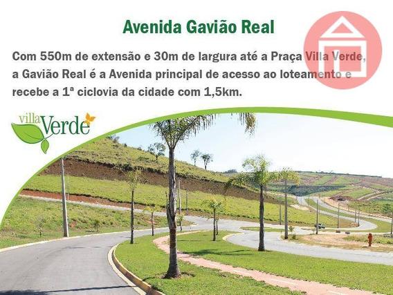Terreno Residencial À Venda, Residencial Villa Verde, Bragança Paulista. - Te0530