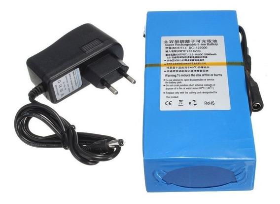 Bateria Recarregável De Litio 12v 20000 Mah