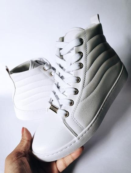 Tênis Sneaker Vizzano Cano Alto Sola Alta Pronta Entrega