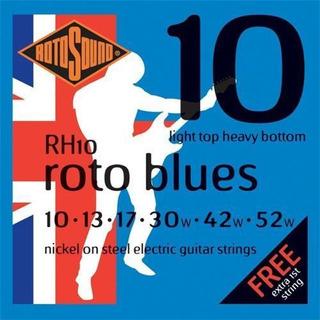 Encordado Guitarra Electrica 10 Hibrido Rotosound Rh10 Nicke
