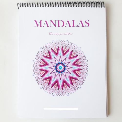 Libro De Mandalas Para Colorear Extra Diseños 60 Dibujos