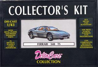 Ferrari 348 Ts Escala 1/43 Collector