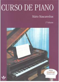 Curso De Piano Mario Mascarenhas V1 Livro Método Partitura