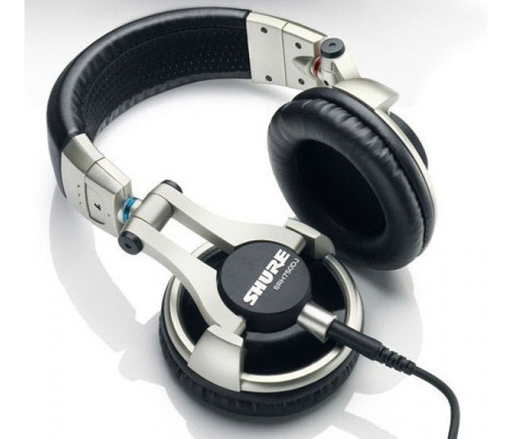 Headphone Shure Srh-750dj Pro Fone De Ouvido Dj/gamers E Etc