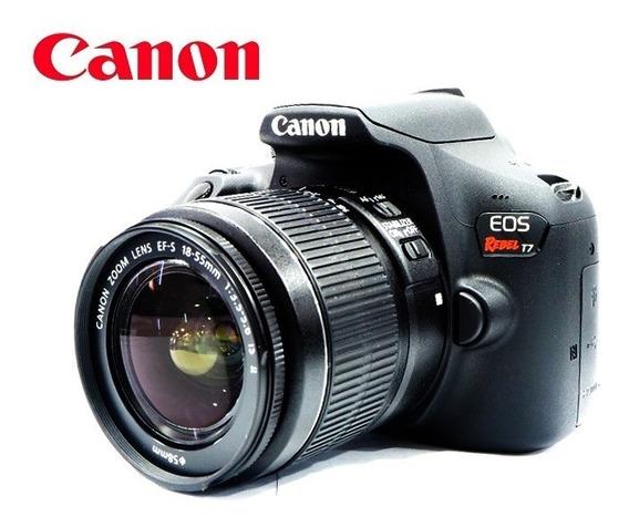 Canon Eos T7 24mp Wifi Kit 18-55mm Is - Nota 10 C/ Garantia