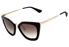 e05c04157 Prada Spr06q Preto Brilhante 1ab 0a7 - Óculos no Mercado Livre Brasil