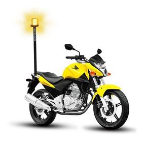 Sinalizador De Led Giroled Giroflex De Super Led P/ Moto