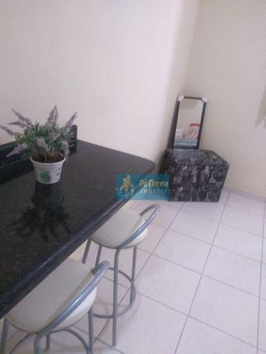 Imagem 1 de 10 de Kitnet Com 1 Dormitório À Venda, 27 M² Por R$ 108.000 - Ocian - Praia Grande/sp - Kn0087