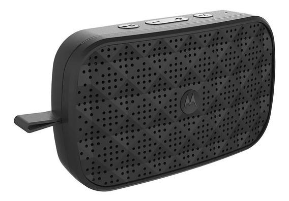 Caixa De Som Motorola Sonic Play 150 Bluetooth Fm Preto