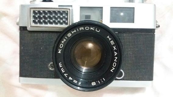 Antiga Máquina Fotográfica Analógica Konica S3 Linda