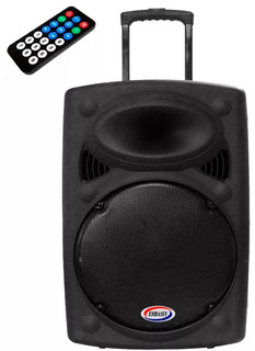 Bafle Potenciado 15 Embassy Cs-15 100w Rms Usb Bt Mp3